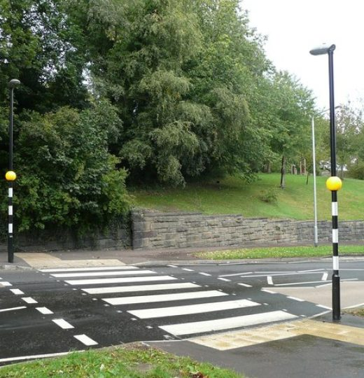 Have a zebra crossing on every street